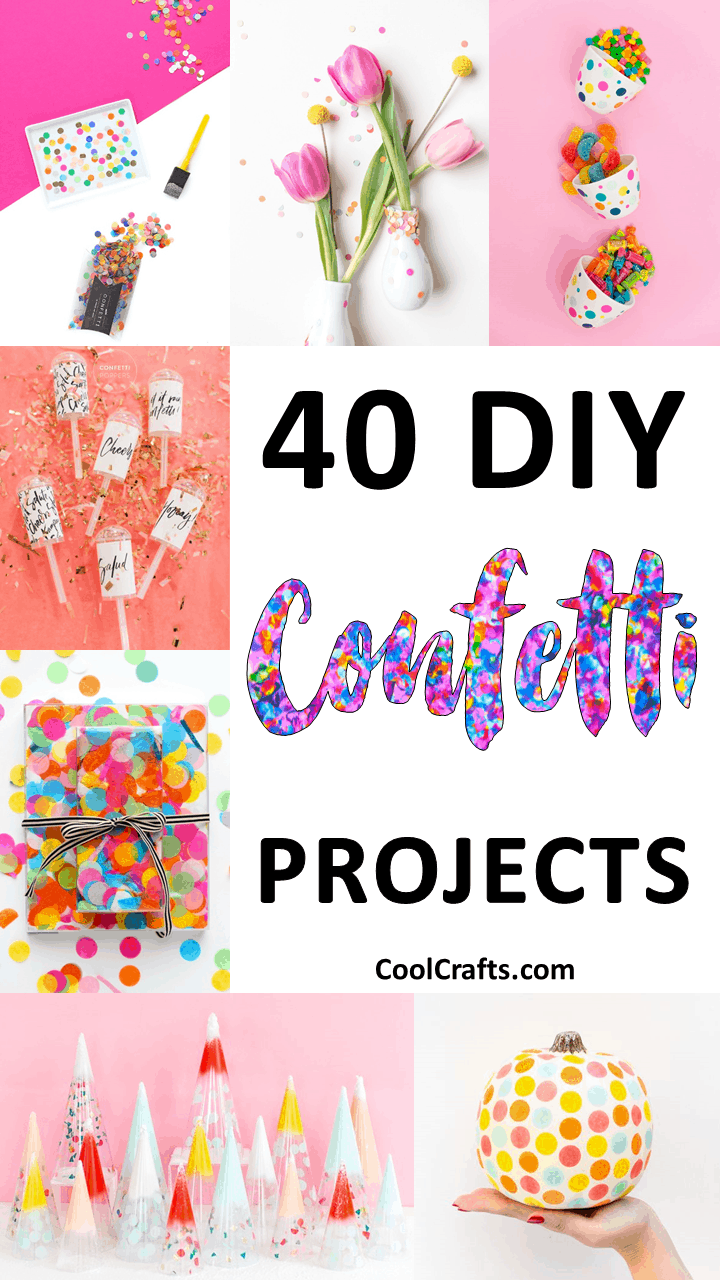 40 DIY Colorful Confetti Ideas to Throw The Perfect Party - CoolCrafts.com