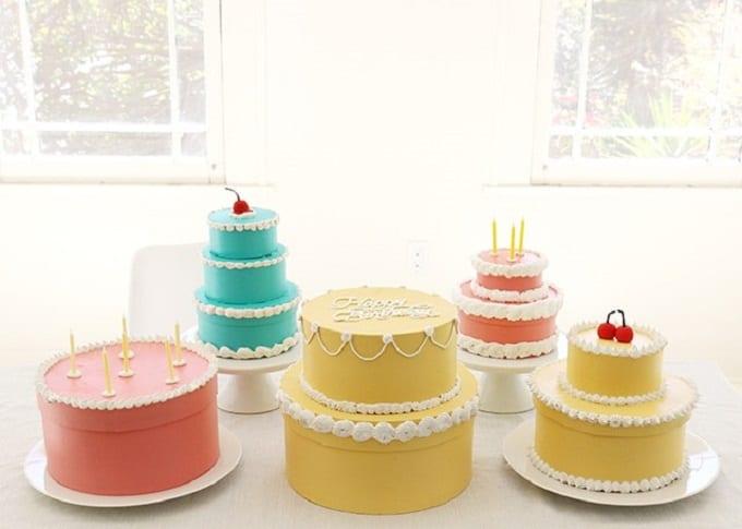 DIY Cake Boxes