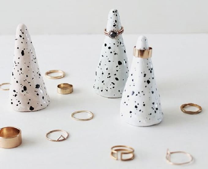 Faux Ceramic Cone Rings