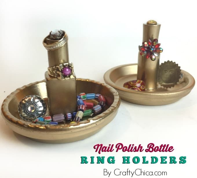 Nail Polish Bottle Ring Holders