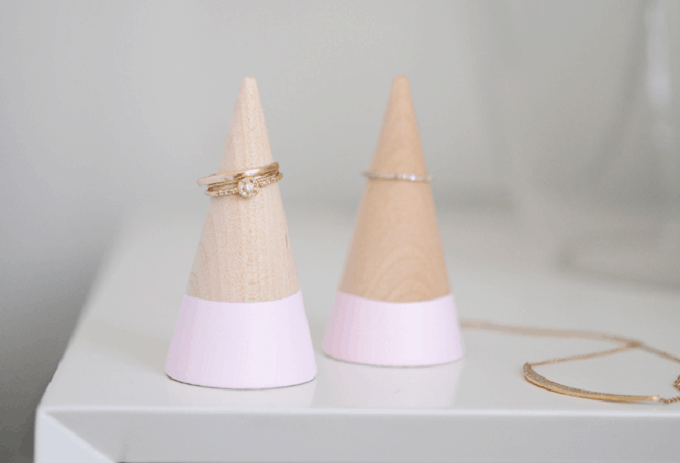 DIY Ring Cones