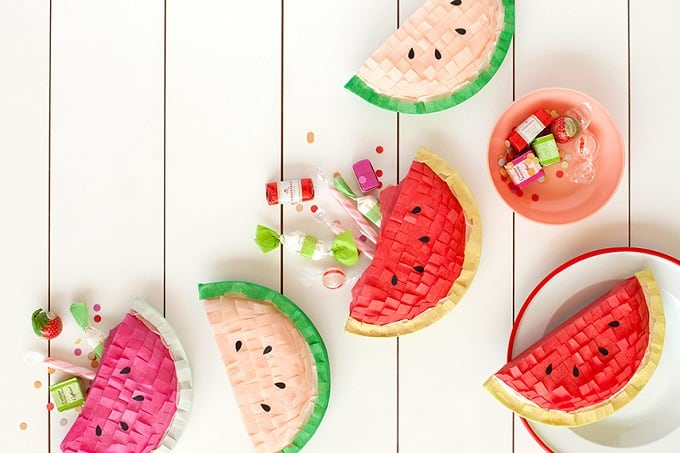 Mini Watermelon Pinatas