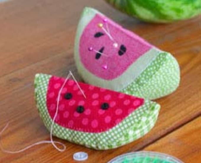 Watermelon Pin Cushions