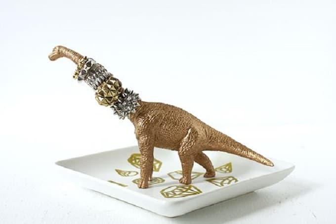 Dinosaur Ring Holder