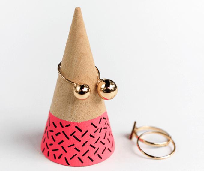 DIY Ring Cone