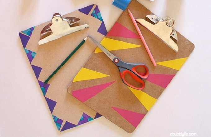 painted clipboards