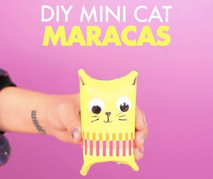 mini cat maracas