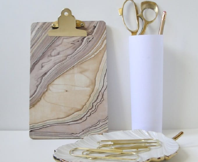 marble clipboard
