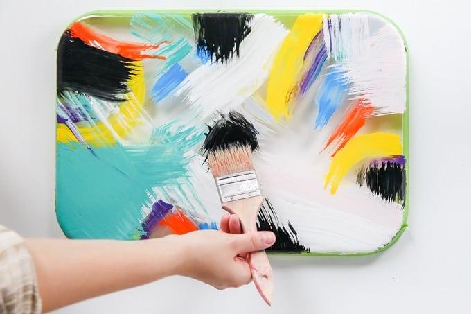 DIY Painted Tray