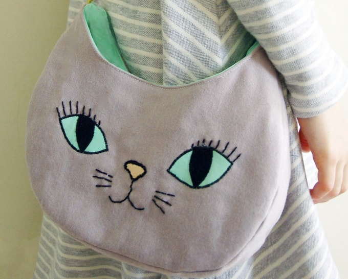 cat-inspired bag