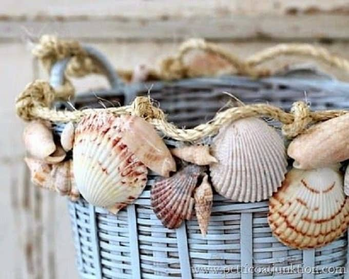 Seashells Basket