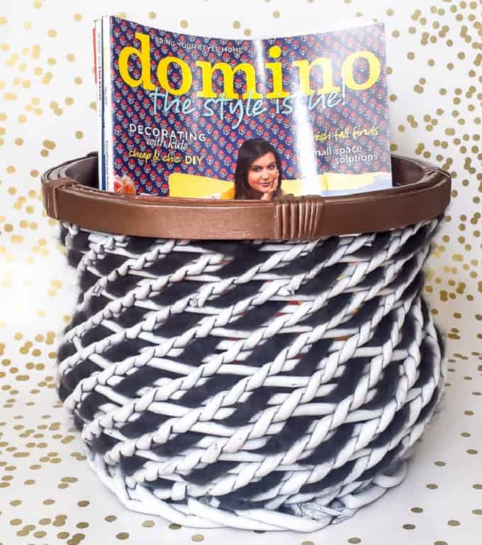 DIY Basket Makeover Idea