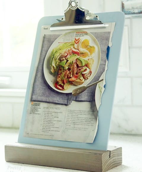 easy clipboard stand