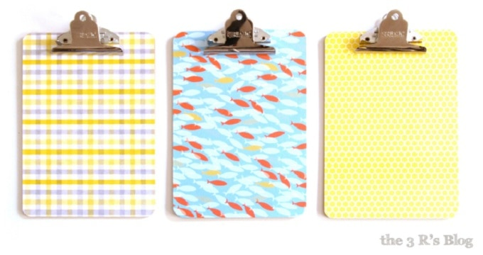 paper covered clipboards