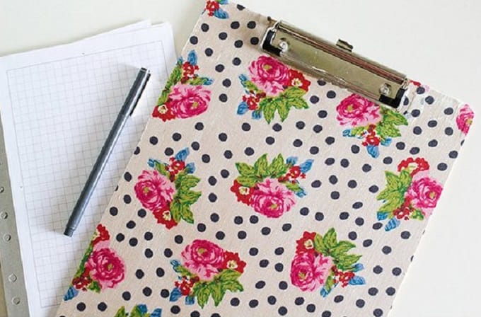 fabric clipboards