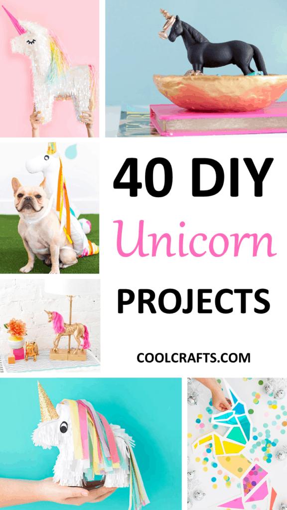 40 Majestic DIY Unicorn Craft Ideas