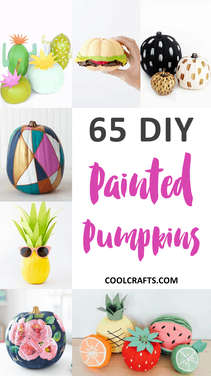 65 Halloween Pumpkin Decorating Ideas for Kids. | Coolcrafts.com