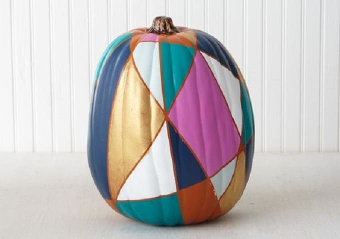 pumpkin decorating stained glass windows