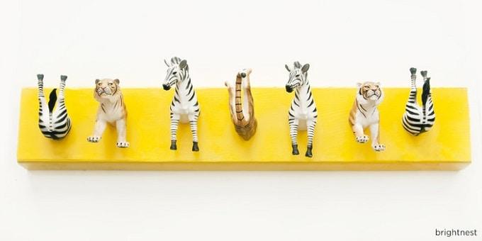 animal-inspired coat rack