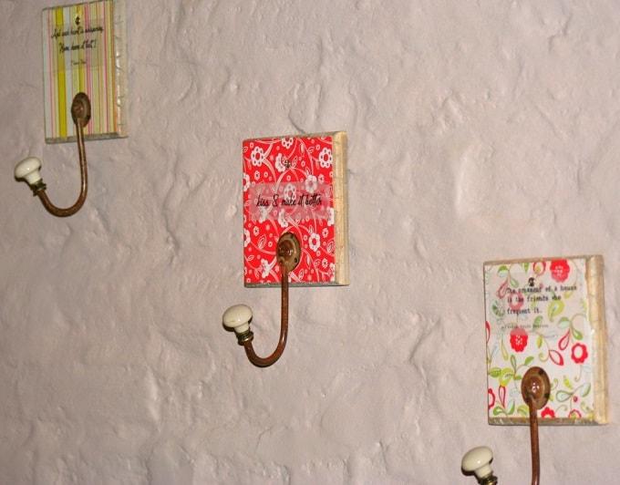 inspirational wall hooks