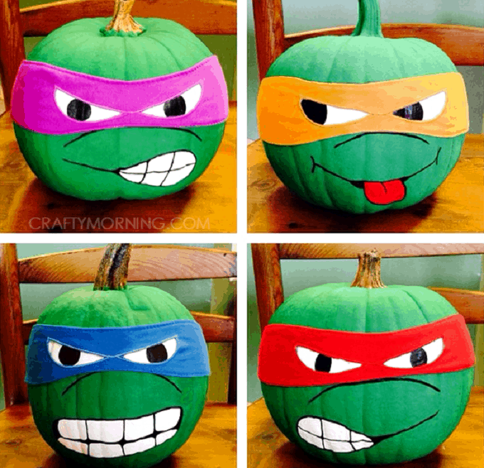 Ninja Turtles pumpkin