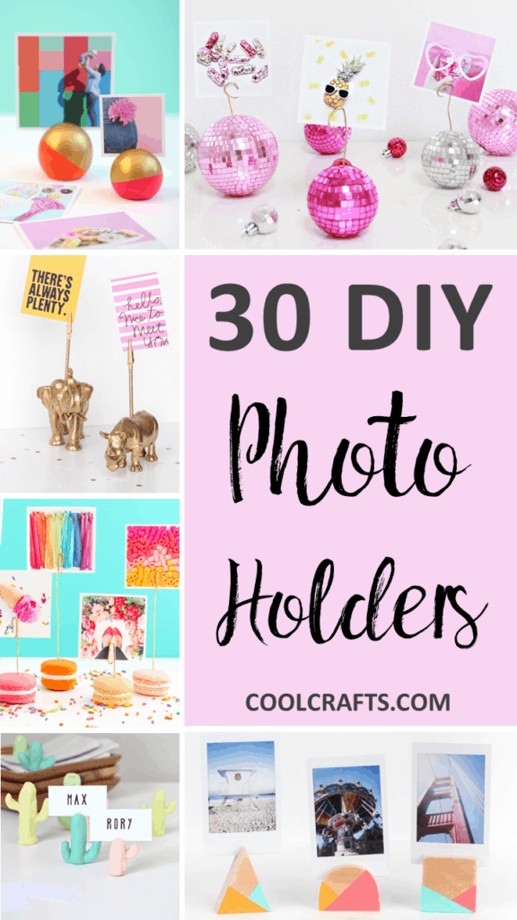 30 Custom Photo Holder Ideas to Flex Your Creative Muscle Over