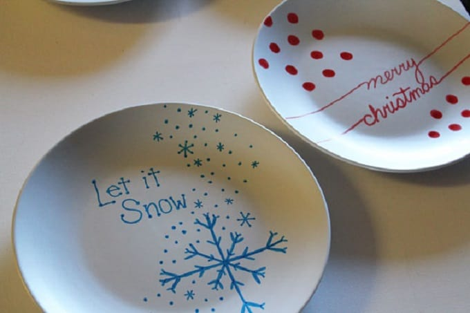 cookie exchange plates