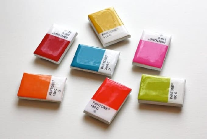 Pantone color magnets