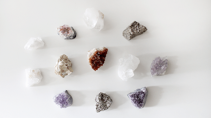 raw crystal magnets