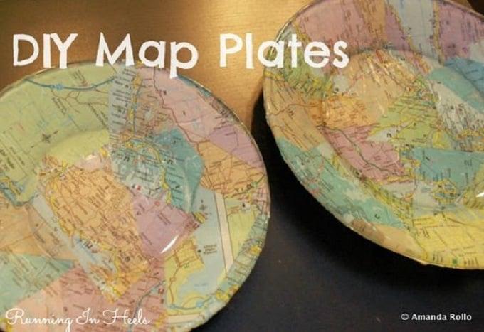 DIY map plates