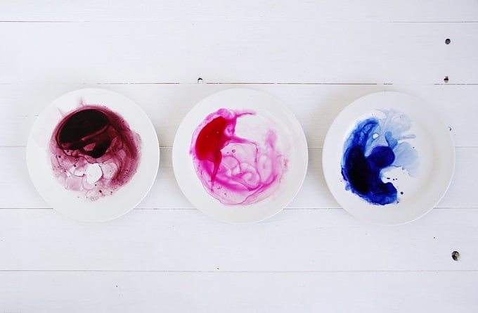 Watercolor tableware