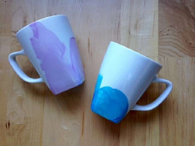 watercolor mugs