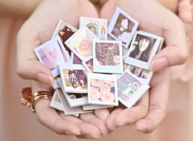 miniature photo magnets