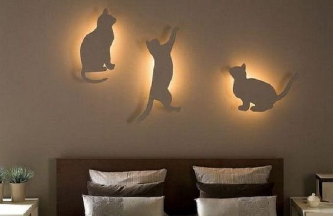cat novelty lights