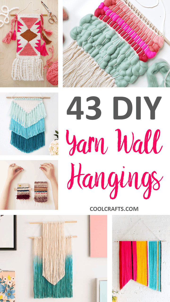 43 inspiration diy woven wall hangings for your home cool crafts