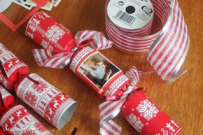 personalized Christmas crackers