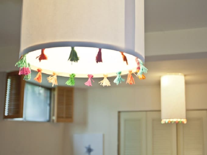 pendant tassel lights