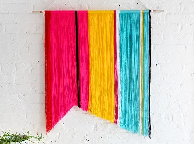 colorful yarn masterpiece