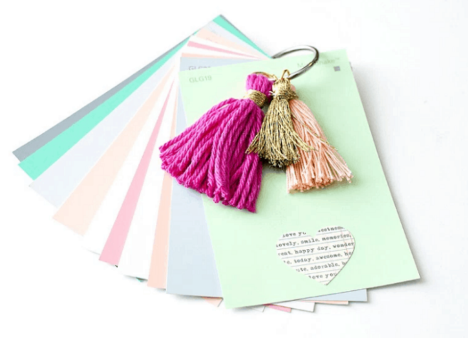 tassel notebook