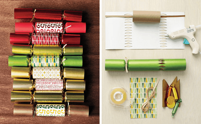 traditional paper Christmas crackers