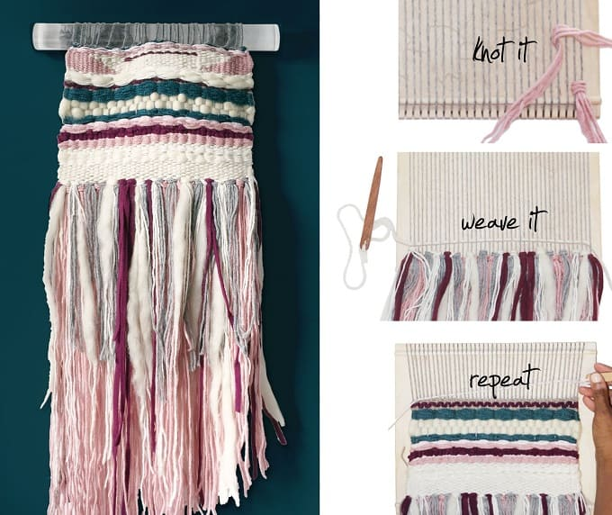 43 Inspiration DIY Woven Wall Hangings For Your Home