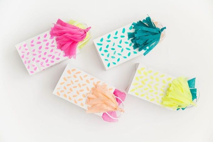 tassel gift bag