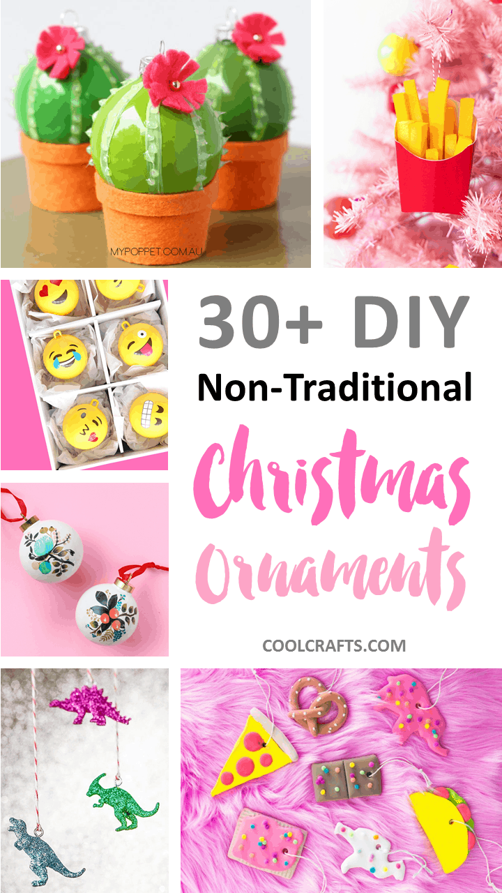 30+ Glamorous Homemade Christmas Ornaments You Can Make With Your Kids. | Ideahacks.com