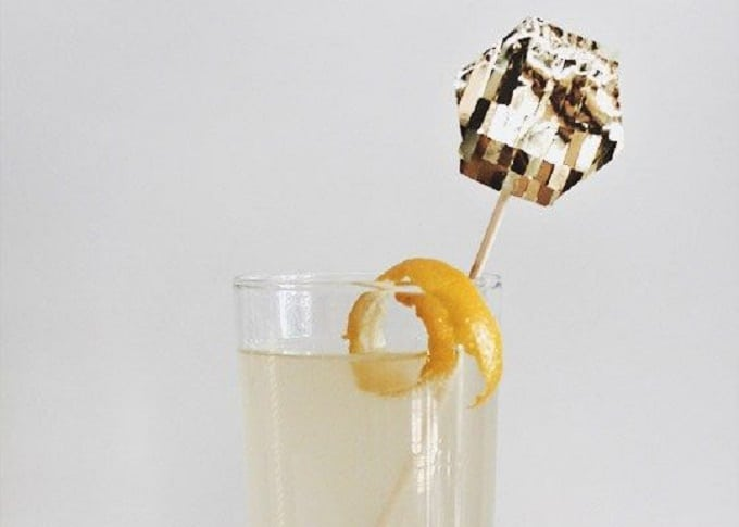 gold cocktail stirrers