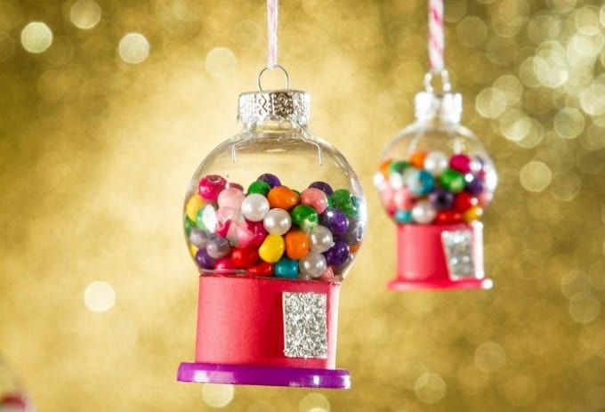 gum ball machine ornaments