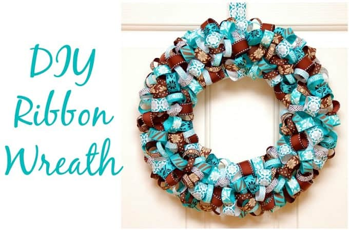 ribbon wreath