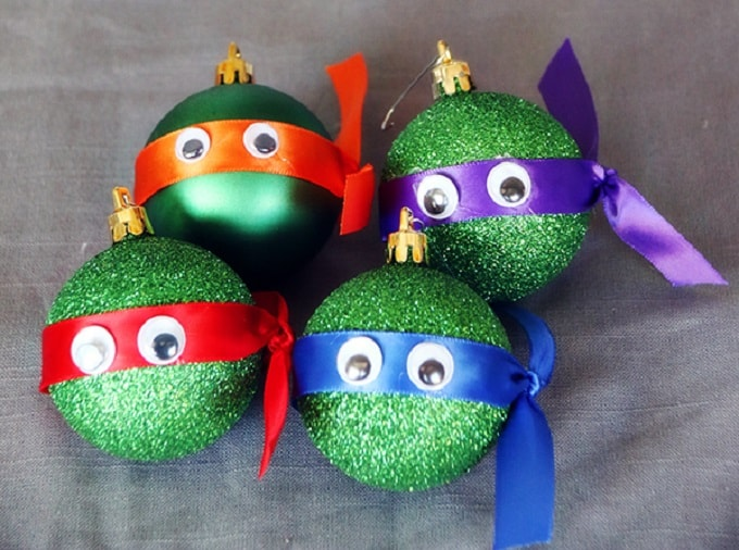 Ninja Turtle ornaments