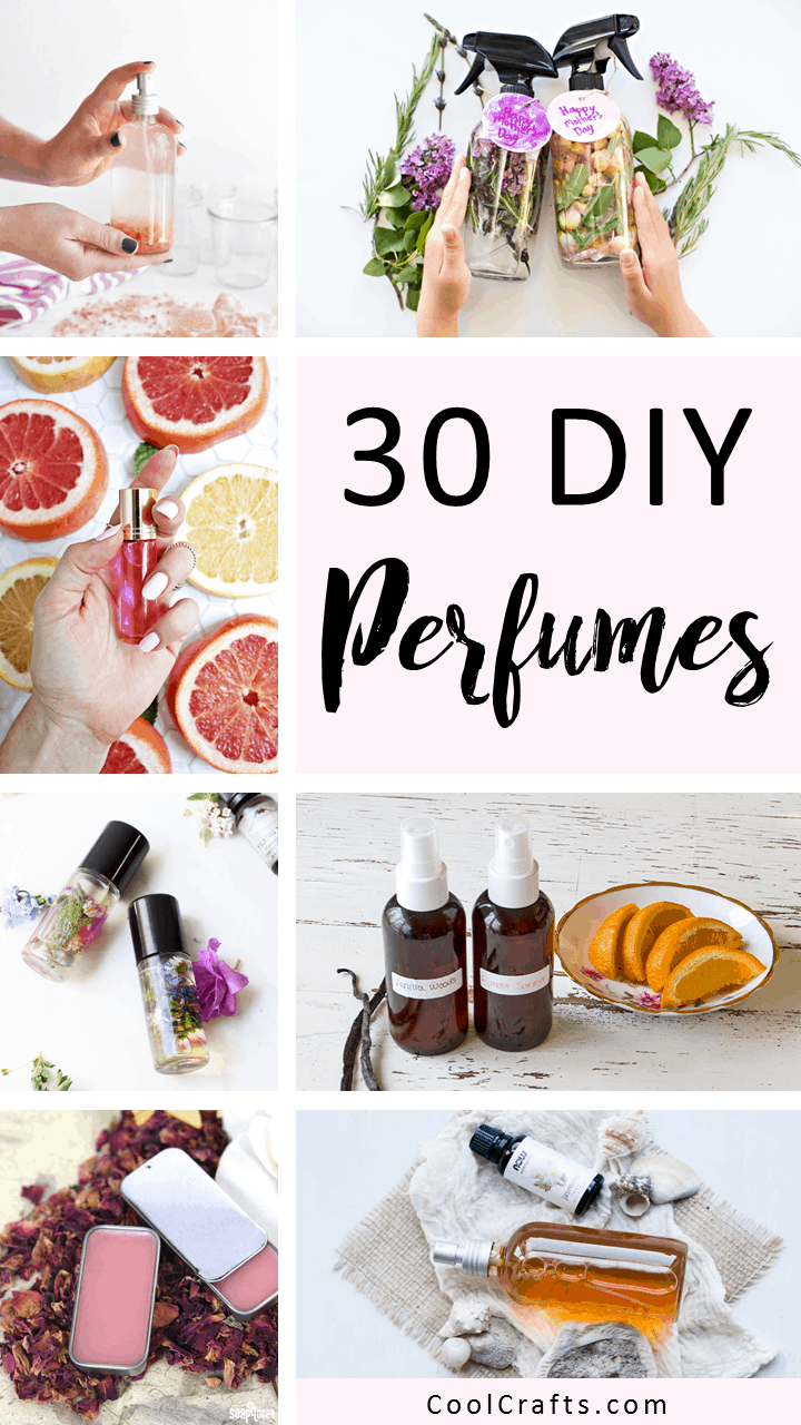 DIY Perfumes: 30 Ways To Make Your Own Perfume. | Coolcrafts.com