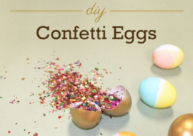 confetti-filled eggs