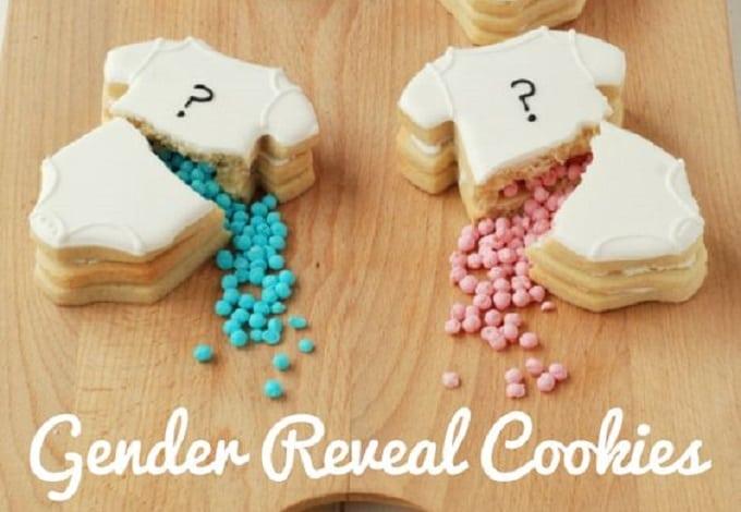 DIY baby onesie cookies